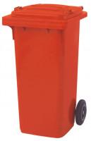 Kunststoff Müll-Großtonnen Rot / 120