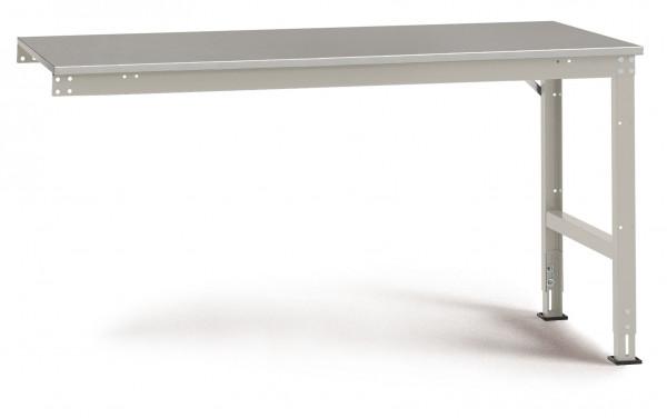Anbauarbeitstisch UNIVERSAL Standard, Blechbelag 22 mm