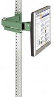 Monitorträger leitfähig 75 / Resedagrün RAL 6011