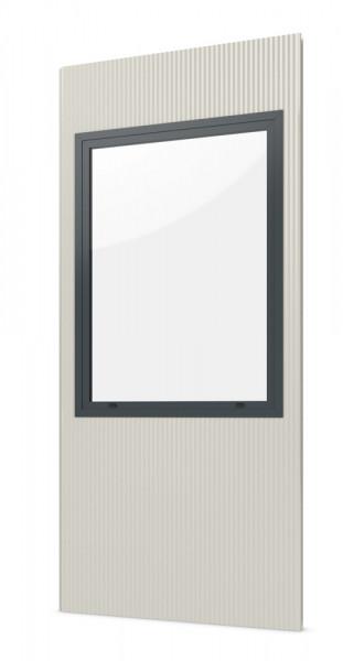 Einzelpaneel mit Fenster