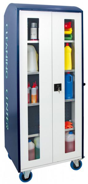 Mobile Abfall- und Reinigungsstationen, Modell 5