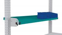 Neigbare Ablagekonsole für MULTIPLAN Arbeitstische 2000 / 345 / Wasserblau RAL 5021