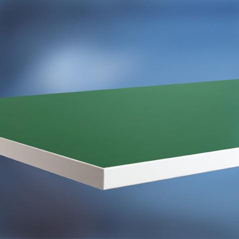 Arbeitstischplatte Linoleum grün 22 mm
