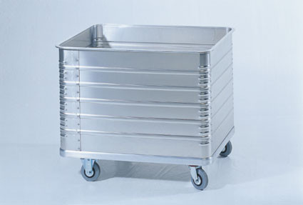 Deckel anscharniert für Aluminiumkastenwagen