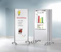 Info-Stellwand Lochblech / Stahl