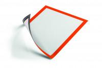 Selbstklebender Inforahmen DIN A4 / Orange