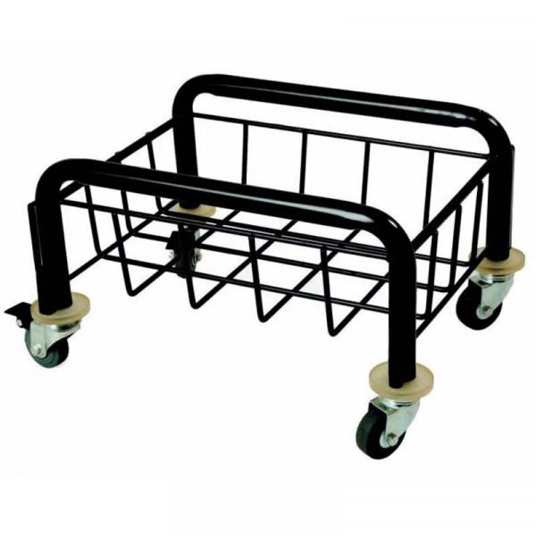 Fahrgestell für Kunststoff-Wertstoffsammler