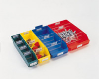 Etiketten für Regalkästen mit Sichtöffnung 60x30