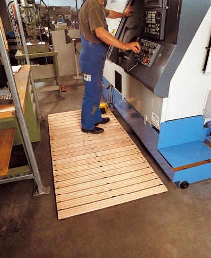 Maschinen-Holzlaufrost
