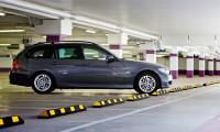 Parkplatzbegrenzung 900 / Schwarz/Gelb