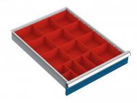 Behälterset für Schubfachschrank MAXTEC 555 / 50