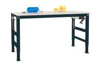 Grundarbeitstisch UNIVERSAL ERGO K Handkurbel, PVC 22 mm
