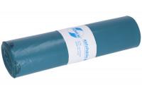 Abfallsäcke, LDPE mit 120 Liter Volumen Blau / 60