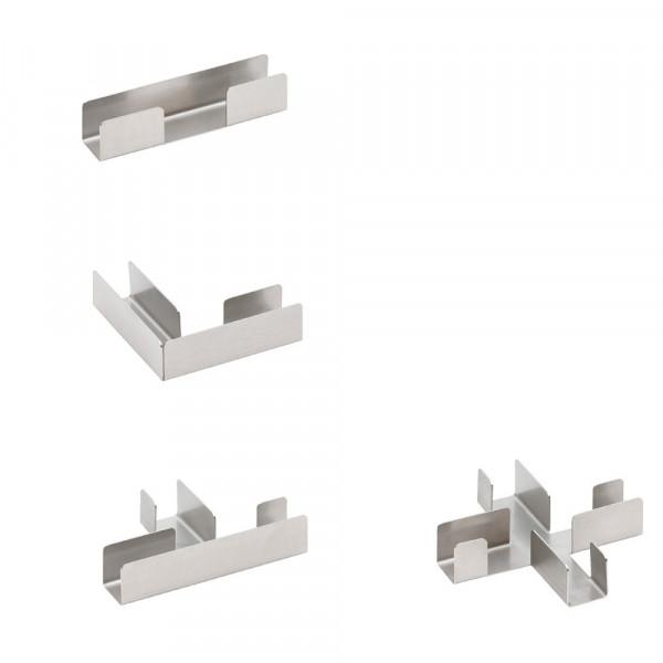 Verbindungselemente für DIVI smart Schreibtischaufsätze