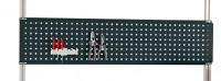 Werkzeug-Lochplatten für Alu-Aufbauportale Anthrazit RAL 7016 / 1250