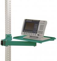 Ablageboard für MULTIPLAN Arbeitstische Graugrün HF 0001 / 370