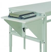 Höhenverstellbarer Tischansatz UNIVERSAL 600 / Lichtgrau RAL 7035