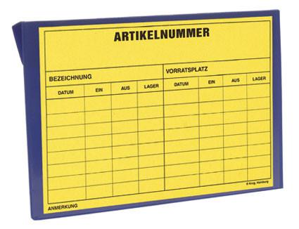 Kennzeichnungstaschen mit Aufhängelochung