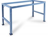 Grundarbeitstischgestell UNIVERSAL Standard 600 / 1000 / Lichtgrau RAL 7035