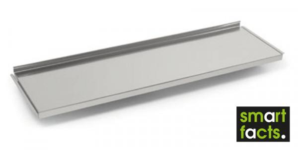 Verzinkte Stahlböden für SMARTFACTS-Archivregale, mit Anschlagkante
