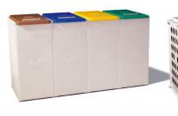 Wertstoffsammelsystem, 60 Liter Grundelement / 1