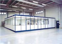Hallenbüro ohne Boden, 2-seitige Ausführung 3045 / 2045