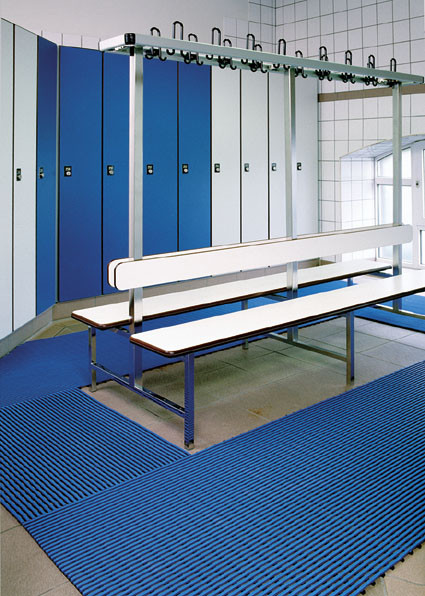 Bodenmatte aus Hart-PVC, 12,0 mm, 10 m Rolle