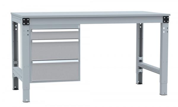 Schubfach-Unterbauten MULTIPLAN, stationär, 1x100, 2x200 mm