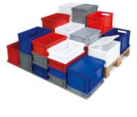 Euronorm-Transport-Stapelbehälter mit Durchfassgriff 43