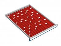 Muldenset für Schubfachschränke MAXTEC 555 / 50-75