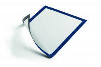 Selbstklebender Inforahmen Blau / DIN A4
