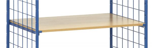 Holzfachböden extra für Etagenwagen/Paketwagen