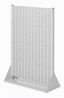 Stellwand mit Sichtlagerkästen, Doppelseitige Nutzung, Höhe 1450 mm zur Selbstbestückung