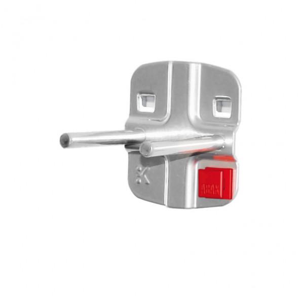 RasterPlan/ABAX Doppelter Werkzeughalter, mit geradem Dorn