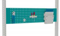 Werkzeug-Lochplatten für MULTIPLAN/PROFIPLAN Wasserblau RAL 5021 / 1500