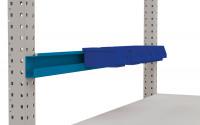 Boxenträgerschiene für MULTIPLAN / PROFIPLAN Brillantblau RAL 5007 / 1500