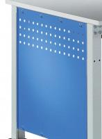 Seitenblende für Arbeitstisch UNIVERSAL Standard Lichtgrau RAL 7035