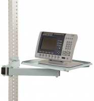 Ablageboard für MULTIPLAN Arbeitstische Lichtgrau RAL 7035 / 370