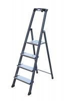 Alu-Stufen-Stehleitern 6 / 125