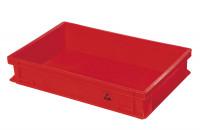 Deckel für Lagerkasten leitfähig Rot / 165
