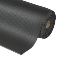 Vinylbelag 9 mm, Rillenprofil 910 x 600 / Grau