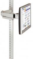 Monitorträger 100 / Resedagrün RAL 6011