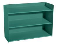 Sichtboxen-Regal Graugrün HF 0001