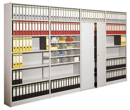 Zwischenwände für Büro-Steckregal Flex