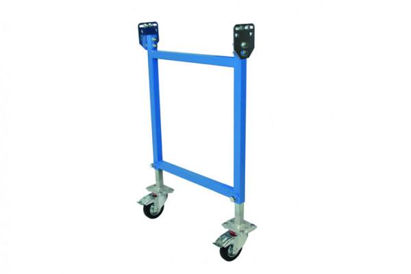 Stützen verfahrbar für Leicht-Stahlrollenbahnen