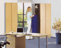 Fachboden für KRIEG Garderobenschrank Lichtgrau