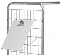 Schreibtafel für Kommissionierwagen