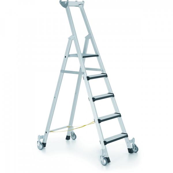 Fahrbare Stufen-Stehleitern