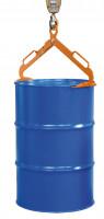 Fasszange für 200 Liter Fässer Gelborange RAL 2000