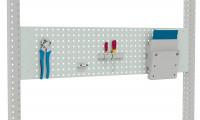 Werkzeug-Lochplatten für MULTIPLAN Arbeitstische Lichtgrau RAL 7035 / 1000